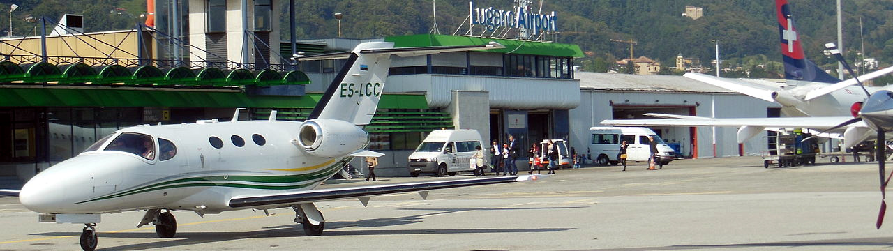 Lugano Airport View